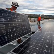 Aangepaste werkwijze zonnepanelen